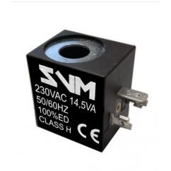 Bobina 230V 8W 50Hz para grupo de válvulas solenoides de 3 vías