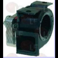 Motor extractor humos para Saeco y Necta