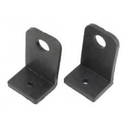 KIT 2 soportes de goma angular para Bomba universal