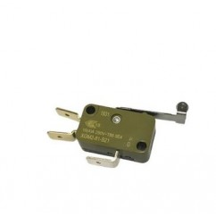 Microinterruptor con palanca y rueda de desbloqueo